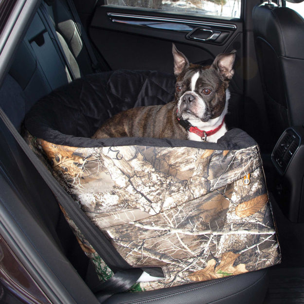 "Picture of K&H Pet Products Realtree Bucket Booster Pet Seat Large Camo 14.5"" x 22"" x 19.5"""