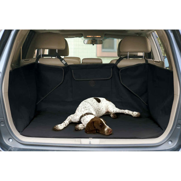 "Picture of K&H Pet Products Quilted Cargo Cover Black 52"" x 40"" x 18"""
