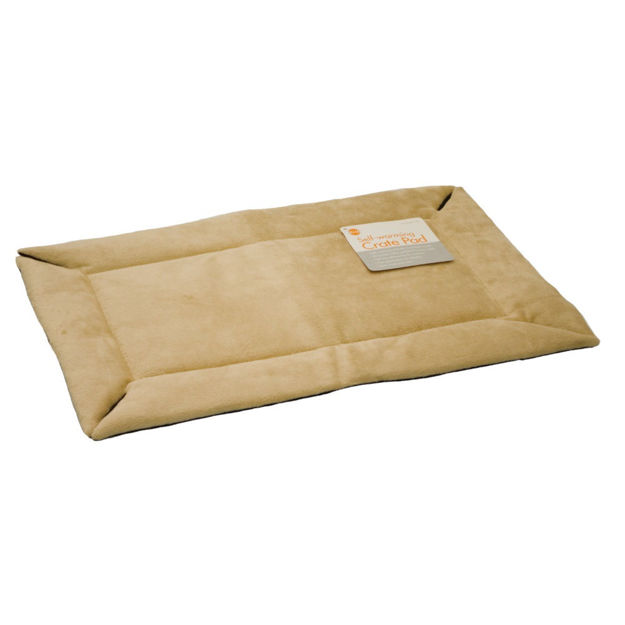 "K&H Pet Products Self-Warming Crate Pad Extra Large Tan 32"" x 48"" x 0.5"""