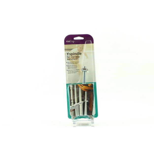 """Picture of Kidco Y Spindle For Pressure Mount Gates Silver 2.5"""" x 1"""" x 6.5"""""""