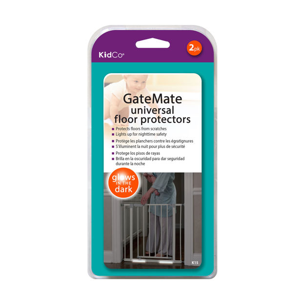 Picture of Kidco GateMate Universal Floor Protector 2 Pack Clear