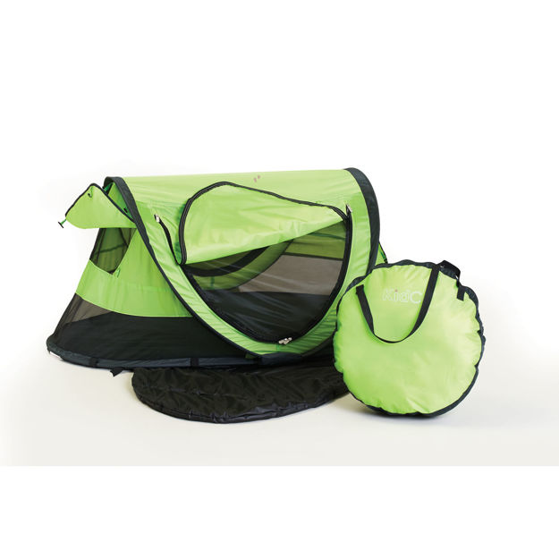 "Kidco PeaPod Plus Travel Bed Green 52.5"" x 34"" x 22"""
