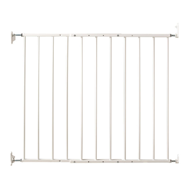 "Picture of Kidco Command Wall Mounted Pet Gate White 24.75"" - 42.5"" x 1.75"" x 31"""
