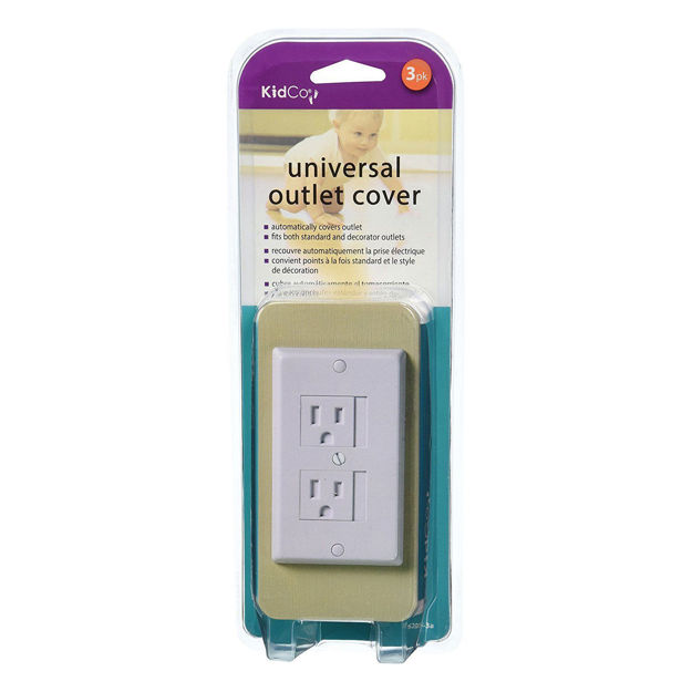 Kidco Universal Outlet Cover 1 pack White