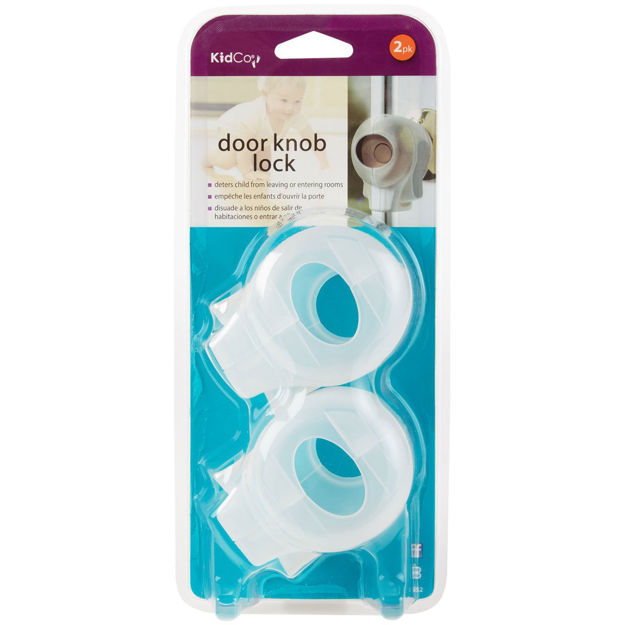 Picture of Kidco Door Knob Lock 2 pack Clear