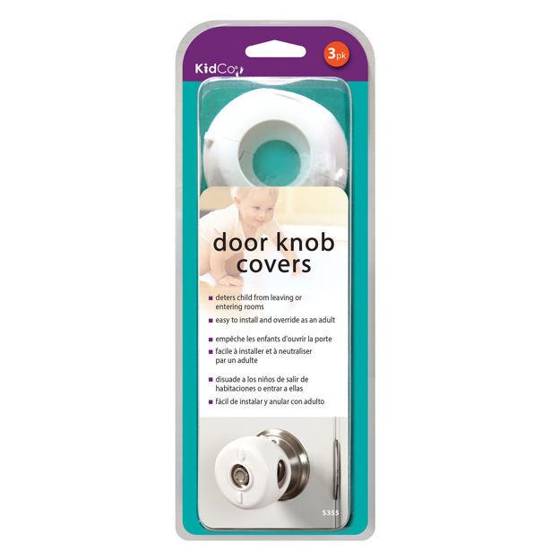 Kidco Door Knob Covers 3 pack White