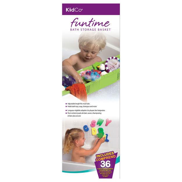 Kidco Fun Time Bath Storage Basket Green