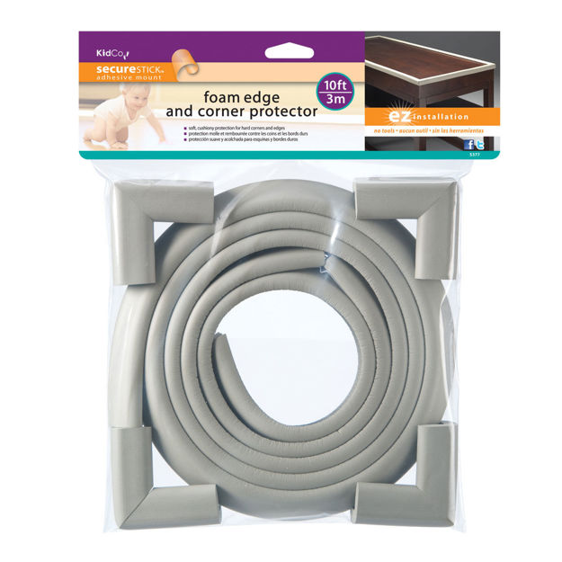 Picture of Kidco Foam Edge and Four Corner Protectors Gray