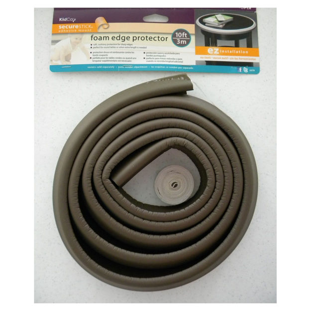 Kidco Foam Edge Protector Brown