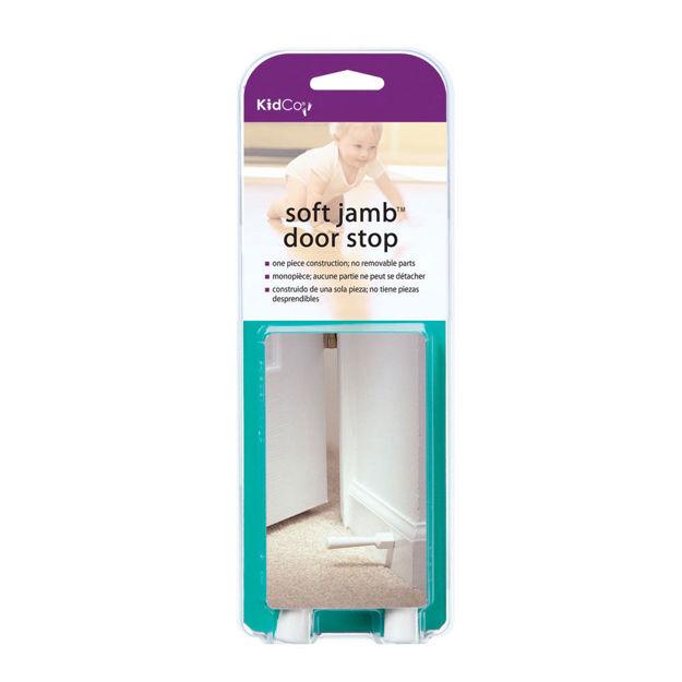 Kidco Soft Jamb Door Stop 3 pack White