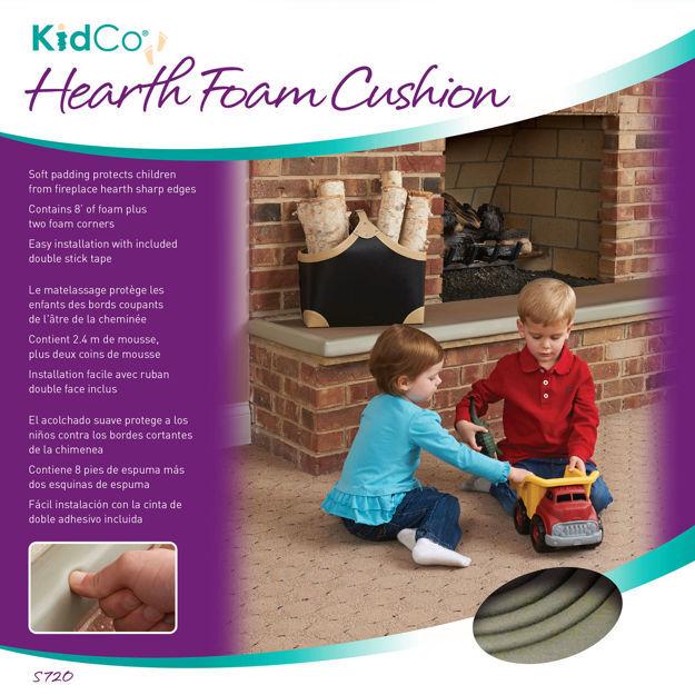 Kidco Hearth Foam Cushion Gray