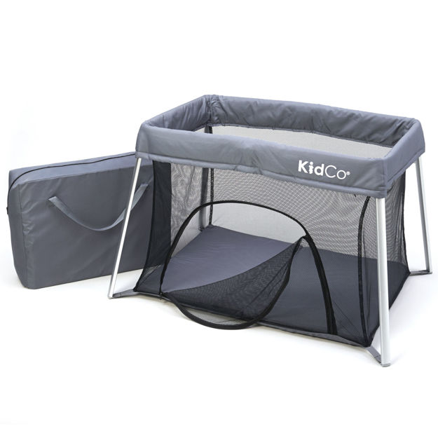 "Picture of Kidco TravelPod Plus Travel Play Yard Gray 42.5"" x 29.5"" x 27"""
