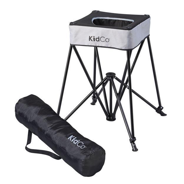 "Kidco DinePod Travel Highchair Gray 23"" X 23"" X 26"""