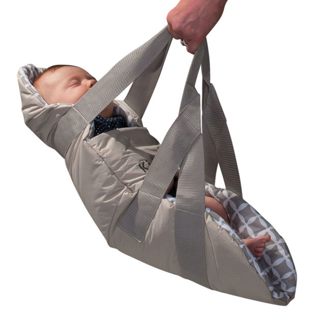 "Kidco SwingPod Travel Swing Gray 26.5"" x 10"" x 1"""