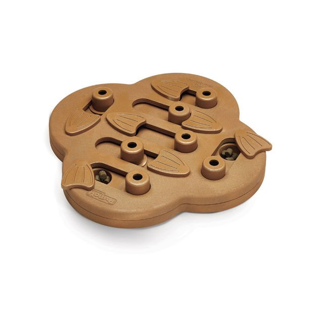 """Picture of Outward Hound Nina Ottosson Dog Hide N' Slide Puzzle Game Large Brown 11.75"""" x 11.75"""" x 2"""""""
