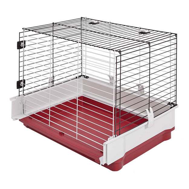 "Midwest Wabbitat Deluxe Rabbit Home Wire Extension Gray 37"" x 19"" x 20"""