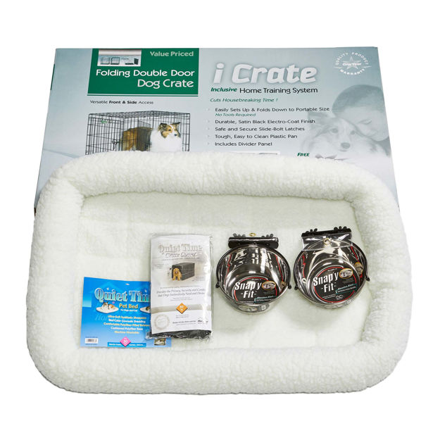 "Picture of Midwest iCrate Dog Crate Kit Medium 30"" x 19"" x 21"""