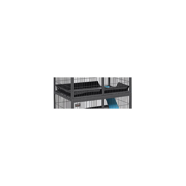 """Picture of Midwest Nation Accessory Upper Scatter Guard Black 34.5"""" x 22.75"""" x 4"""""""