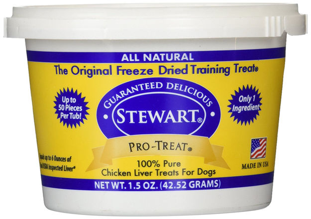 Picture of Miracle Corp Stewart Pro-Treat Freeze Dried Chicken Liver 1.5 oz.