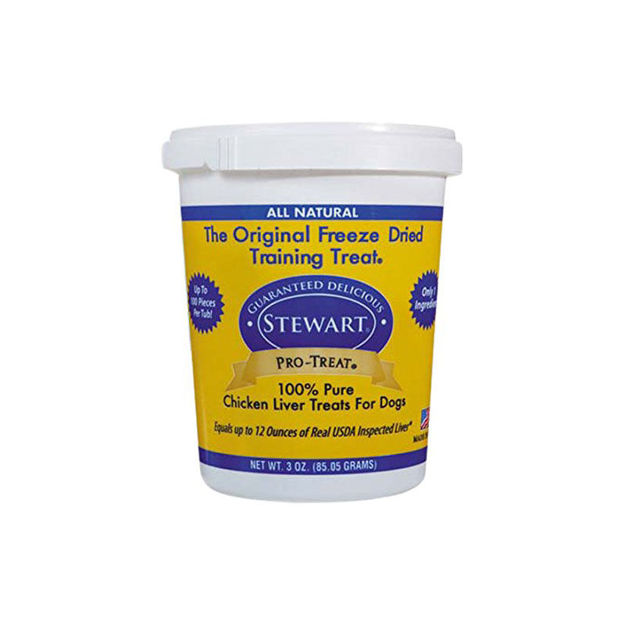 Miracle Corp Stewart Pro-Treat Freeze Dried Chicken Liver 3 oz.