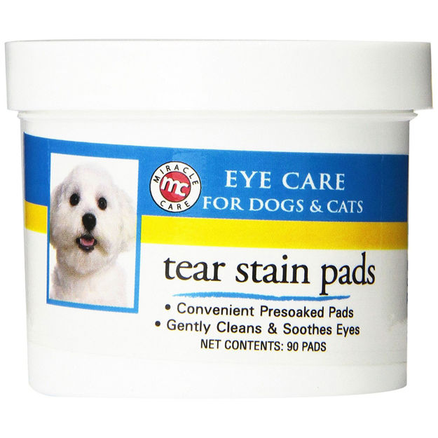 Miracle Corp Eye Clear Tear Stain Pads 90 count