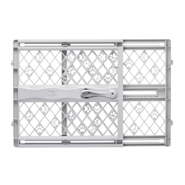 """Picture of North States Paws Portable Pressue Petgate Gray 26"""" - 42"""" x 23"""""""