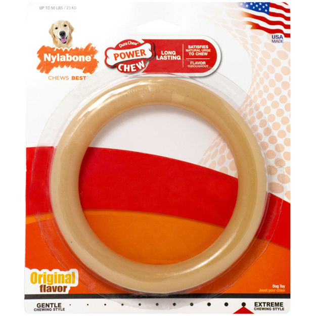 Picture of Nylabone Power Chew Ring Chew Toy Giant