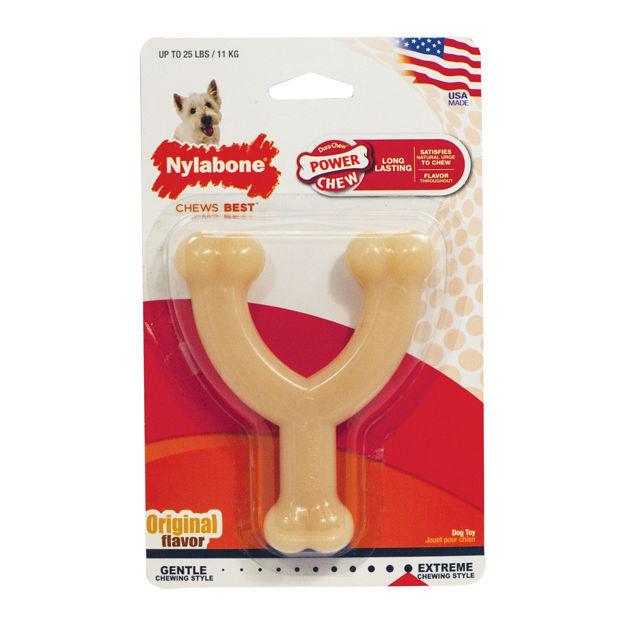 Picture of Nylabone Power Chew Wishbone Chew Toy Wolf