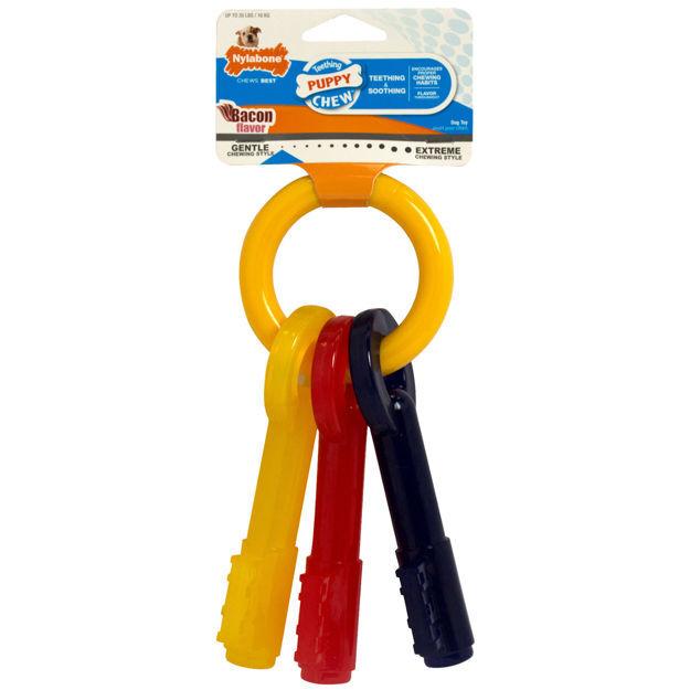Nylabone Puppy Teething Keys Large