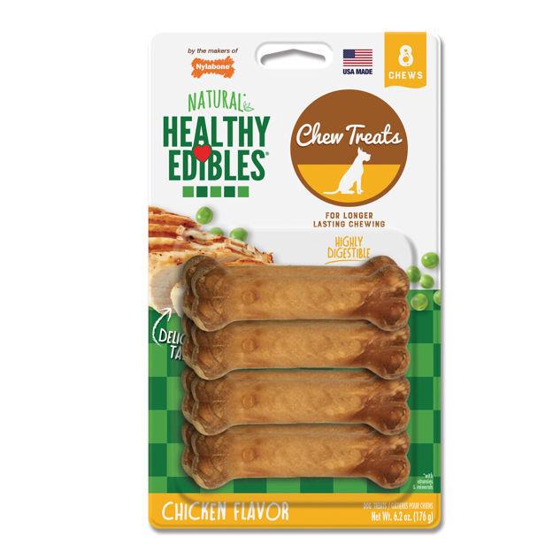 Nylabone Healthy Edibles Longer Lasting Chicken Treats Petite 8 count