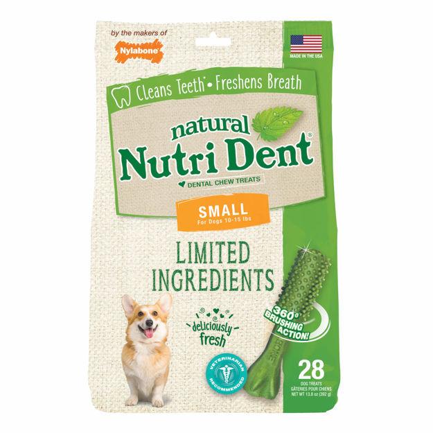 Nylabone Nutri Dent Limited Ingredient Dental Chews Fresh Breath Small 28 count