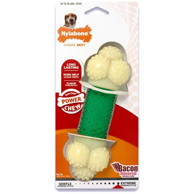Picture of Nylabone Power Chew Double Action Chew Toy Wolf