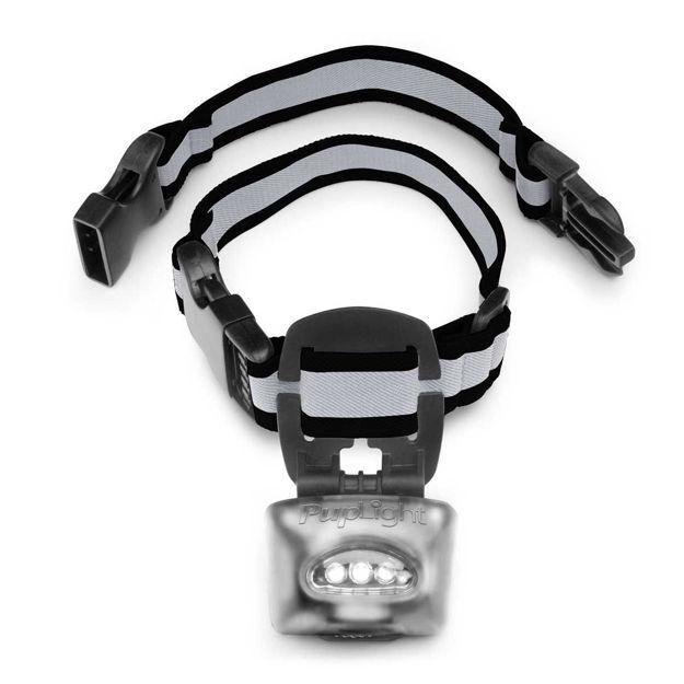 PupLight Dog Safety Light Version 2 Silver