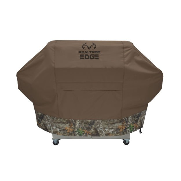 "Picture of RealTree Edge Grill Cover Large Camo 65"" x 23"" x 47"""