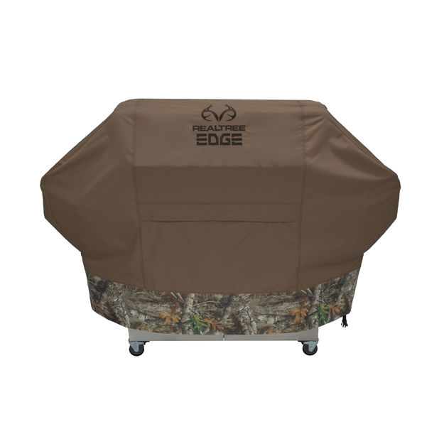 """RealTree Edge Grill Cover Extra Large Camo 72"""" x 25"""" x 47"""""""