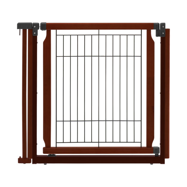 """Picture of Richell Convertible Elite Additional Door Panel Cherry Brown 33.9"""" x 1.4"""" x 31.5"""""""