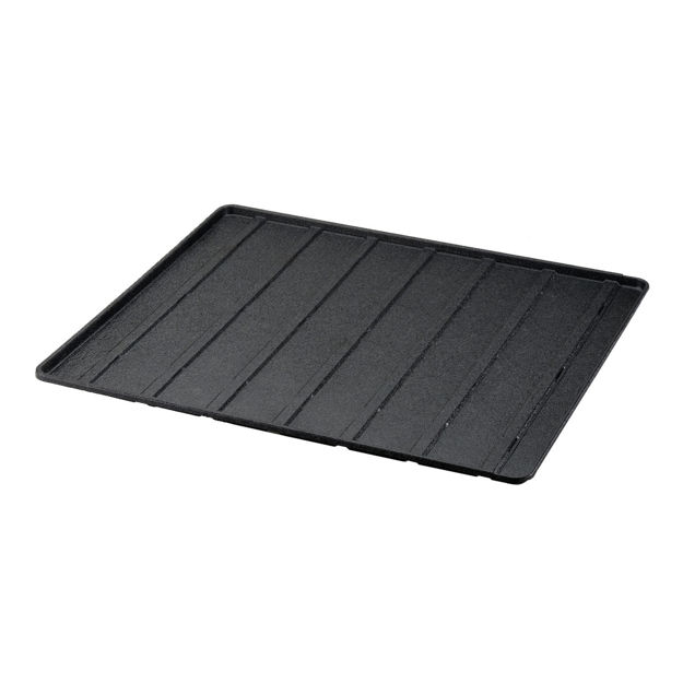 "Picture of Richell Expandable Floor Tray Medium Black 37""-62.2"" x 32.1"" x 1"""