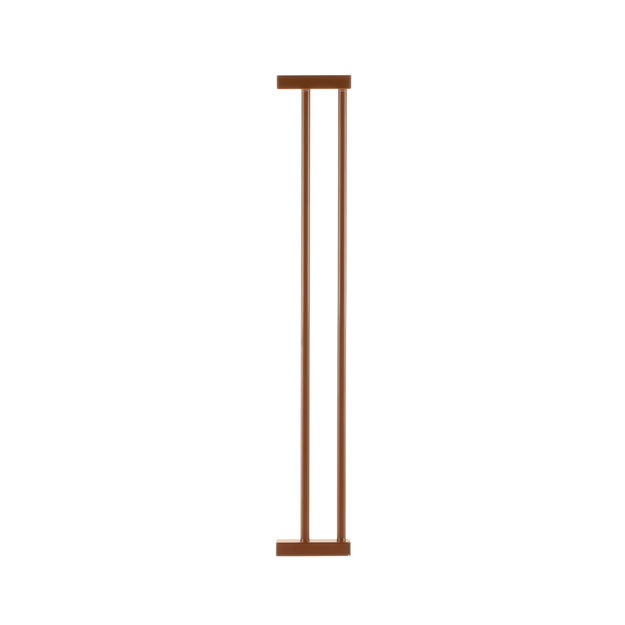 """Richell One-Touch Gate Optional Extension Brown 3.9"""" x .8"""" x 26.4"""""""