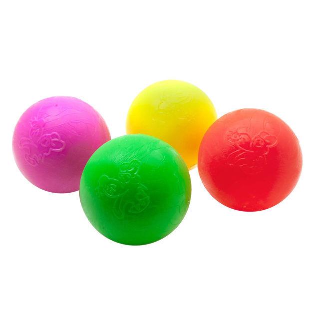 """Ruff Dawg Indestructible Ball Dog Toy Medium Assorted 2.5"""" x 2.5"""" x 2.5"""""""