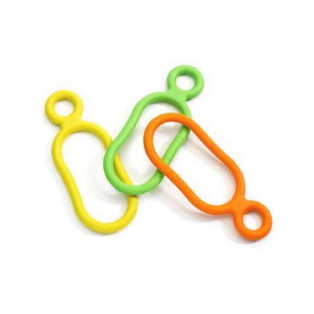 "Ruff Dawg Mini Tug Dog Toy Assorted Colors 5.5"" x 2"" x 0.25"""