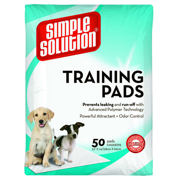 "Picture of Simple Solution Training Pads 50 count Large 23"" x 24"" x 0.1"""