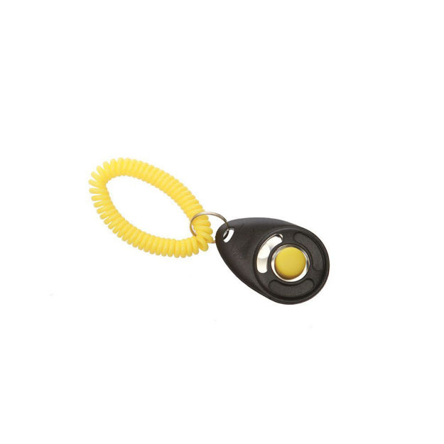 Picture of Starmark Dog Training Click with Wristband Black / Yellow