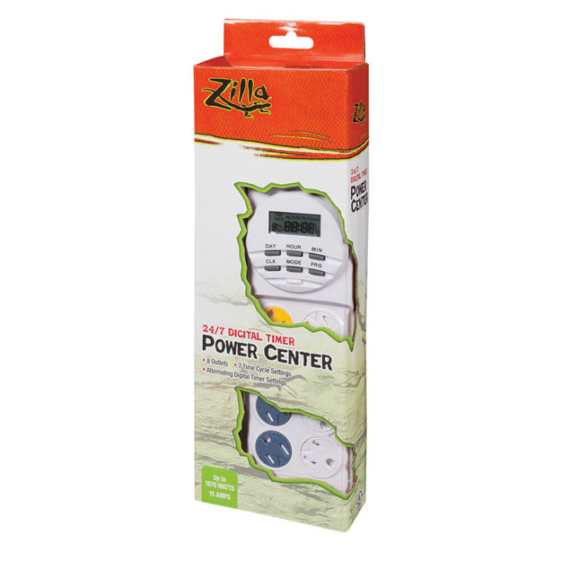 "Picture of Zilla 24/7 Digital Power Center 4.125"" x 2"" x 12.25"""