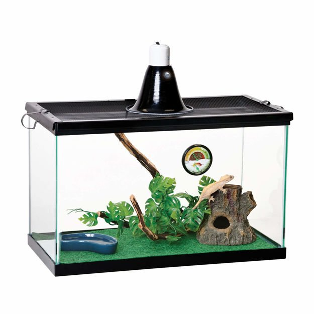 """Picture of Zilla Basic Tropical Reptile Starter Kit Size 10 20.25"""" x 10.5"""" x 12.56"""""""