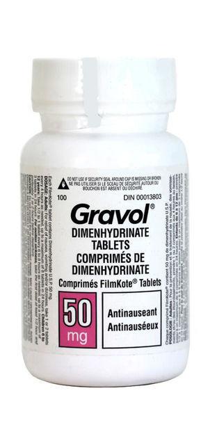 gravol generic tablets