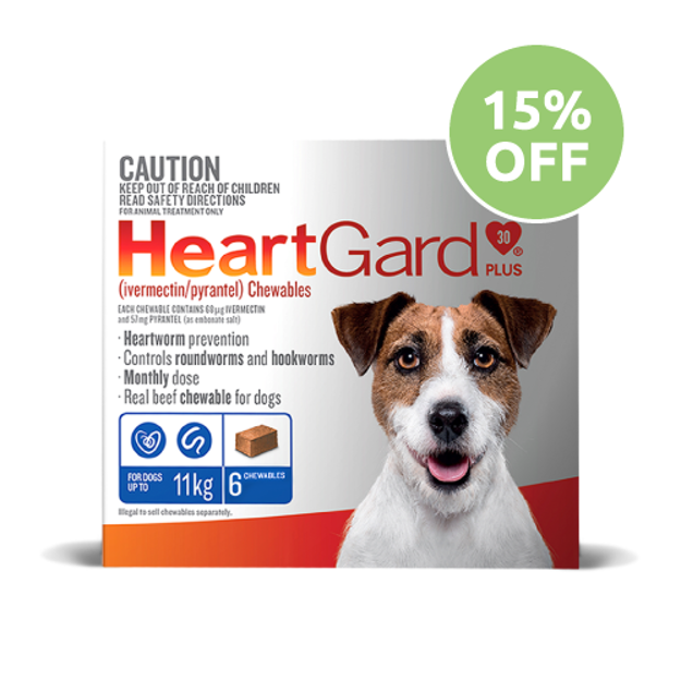 Heartgard Plus Chewable Small Dog