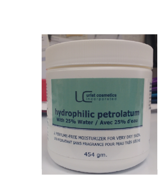 Hydrophilic Petrolatum 454g 25 water