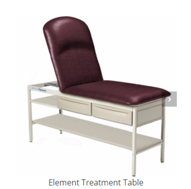 examination table or treatment table